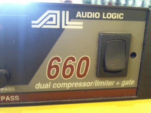 AUDIO LOGIC COMPRESSOR-LIMITER BOUGHT HERE S\3660227 M\660