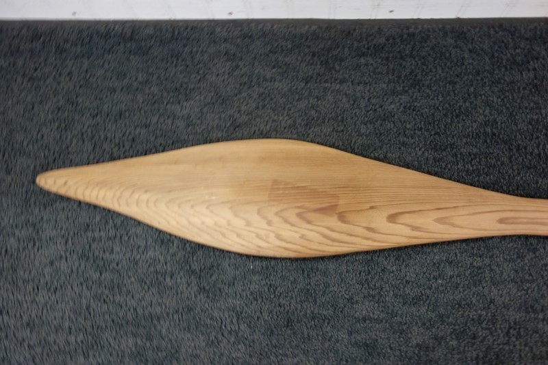 """45"""" HAND CARVED AND PAINTED CEDAR PACIFIC NORTHWEST NATIVE PADDLE"""
