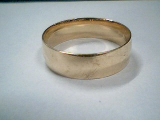Gent's Gold Ring 14K Yellow Gold 3.4g Size:10