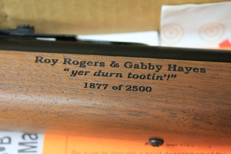 DAISY  ROY ROGERS AND GABBY HAYES BB GUN