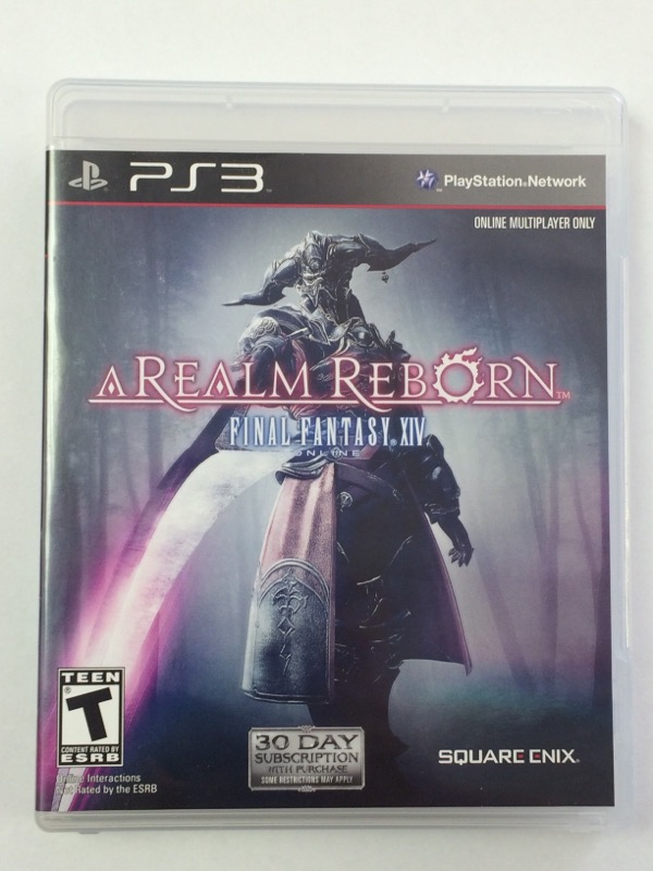 Final Fantasy XIV Online: A Realm Reborn - Sony Playstation 3, 2013