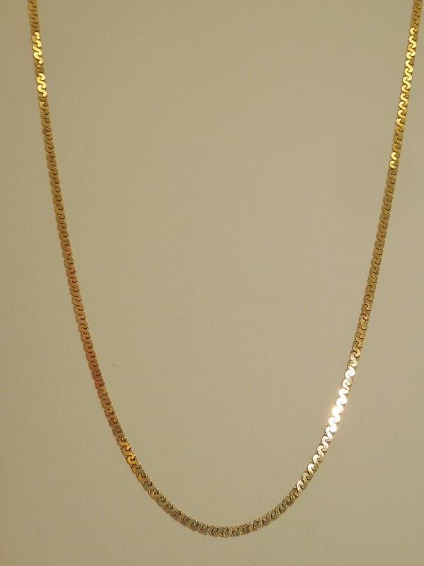 "20"" Gold Fashion Chain 14K Yellow Gold 3.3g"