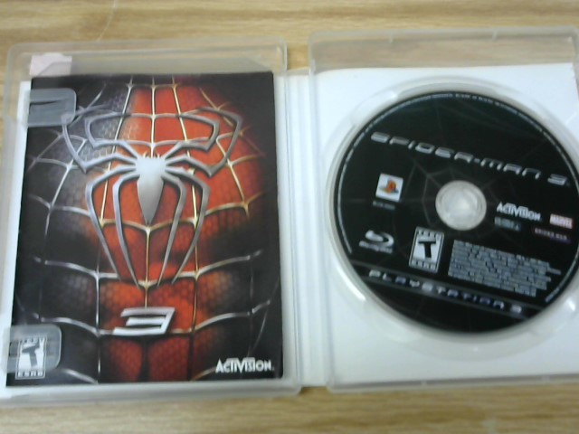 SONY Sony PlayStation 3 Game SPIDERMAN 3 PS3