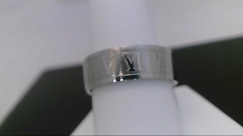 Gent's Ring Titanium 5.6g with roman numerals
