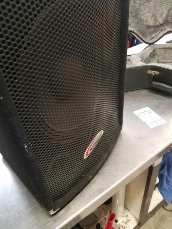 HARBINGER Electronic Instrument HA-120 PA SPEAKERS