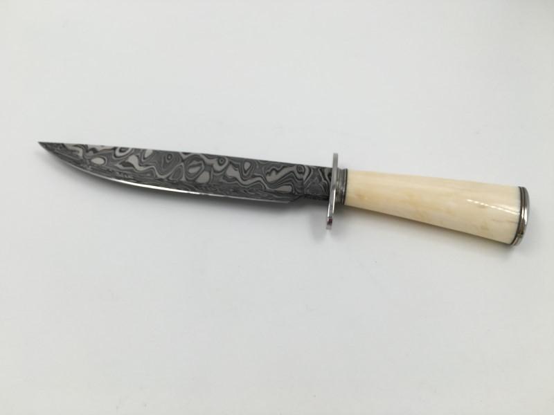 JASON TIENSVOLD Hunting Knife WALRUS DAMASCUS