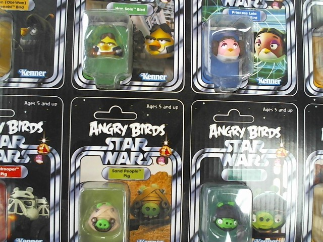 "ANGRY BIRDS ""One of a kind"" STAR WAR FIGURE SET"