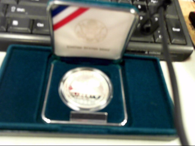 UNITED STATES Silver Bullion WOMEN IN MILITARY SERVICE COIN