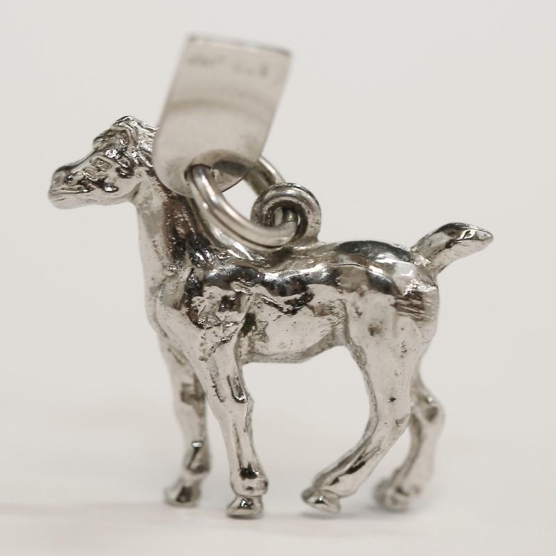 Sterling Silver Lexington Kentucky Horse Charm