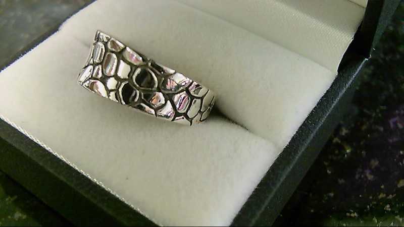 Lady's Silver Ring 925 Silver 4.1g Size:8.5