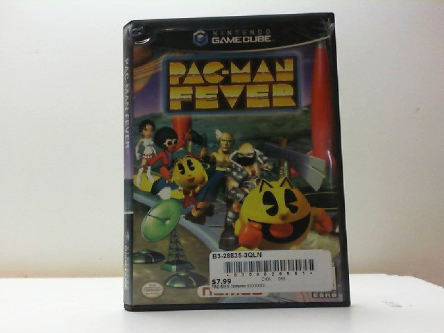 NINTENDO Nintendo GameCube Game PAC-MAN FEVER (GAMECUBE 2002)