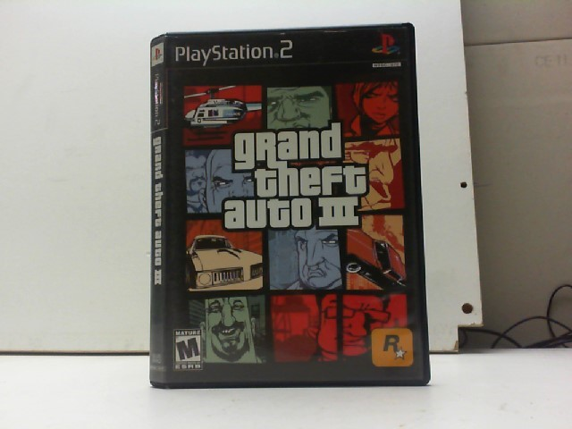 SONY Sony PlayStation 2 Game GRAND THEFT AUTO 3 PS2