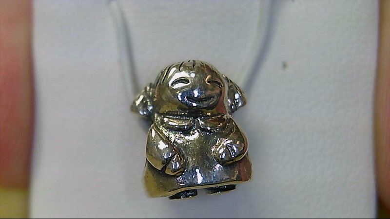 Pandora Little Girl Silver Charm 925 Silver 4.36g