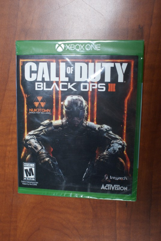 MICROSOFT Microsoft XBOX One Game CALL OF DUTY - BLACK OPS III - XBOX ONE