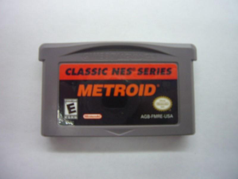 NINTENDO GBA Game METROID