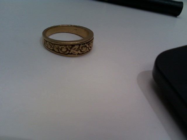 Lady's Gold Ring 14K Yellow Gold 5.3g Size:6.5