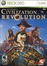 XBOX 360 SID MEIERS CIVILIZATION REVOLUTION