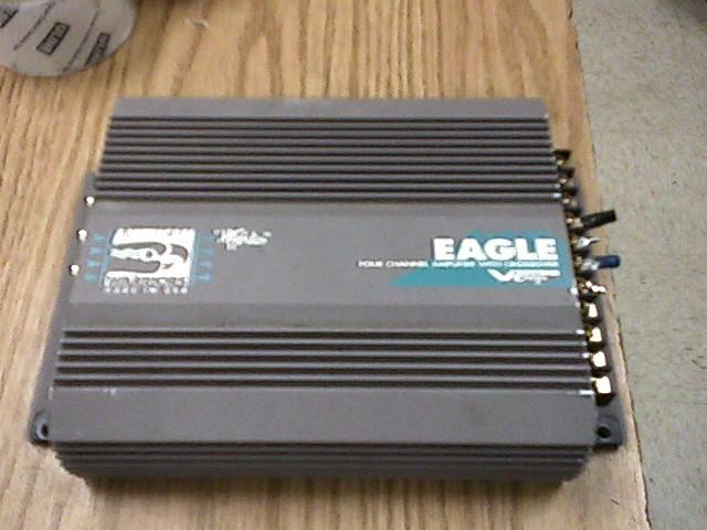 EAGLE EA-S 4 CHANNEL  CAR AMP