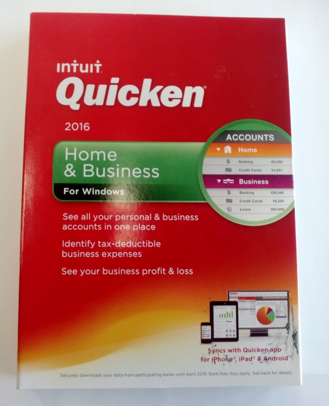 INTUIT HOME AND BUSINESS 2016 **FACTORY SEALED**