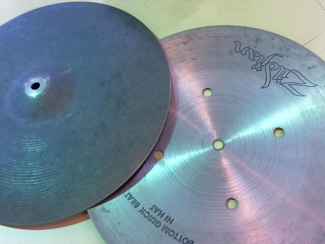 """ZILDJIAN Cymbal 15"""" QUICK BEAT HI-HATS"""