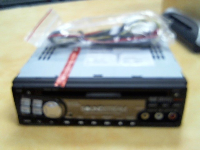 SOUND STREAM Car Audio VDVD-161T