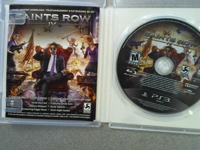 SONY Sony PlayStation 3 Game SAINTS ROW IV