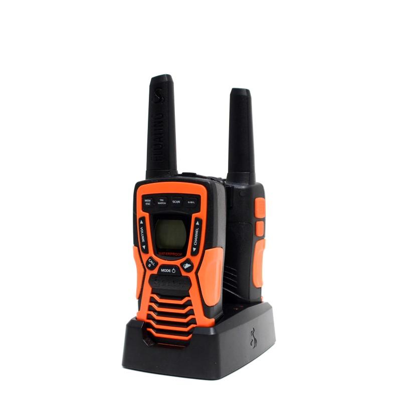COBRA CXT1095 FLT 2 FLOATING WALKIE TALKIES 37MI RANGE NO BATTERIES>