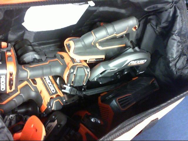 RIGID KNIVES Cordless Drill R8652 CORDLESS TOOL SET