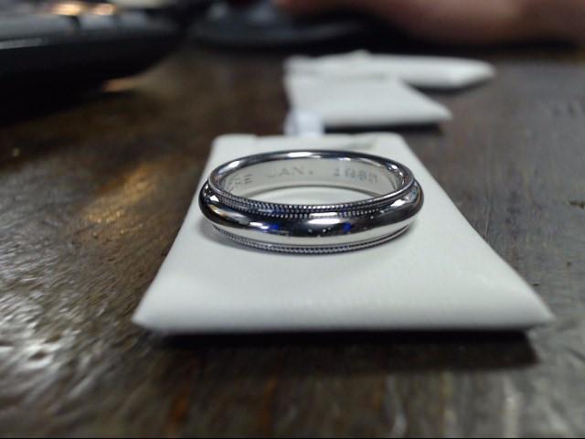 Lady's Platinum Ring 950 Platinum 7.9g Size:6
