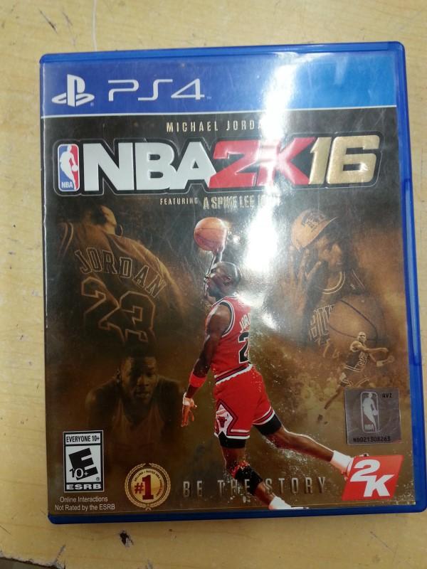 SONY Sony PlayStation 4 Game NBA 2K16 - PS4