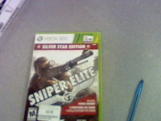 SONY Sony PlayStation 3 Game SNIPER ELITE V2