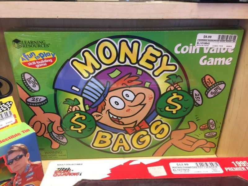 LEARNING RESOURCES Game MONEY BAGS