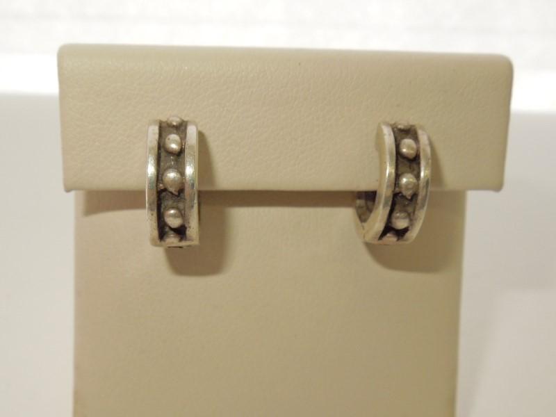 Silver Earrings 925 Silver 7.2g