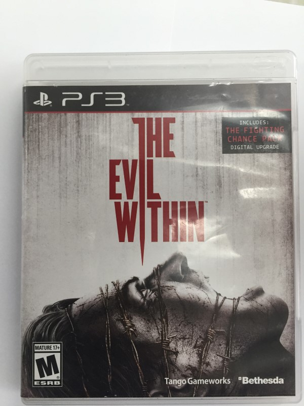 SONY PLAYSTATION 3, THE EVIL WITHIN, GOOD CONDITION.