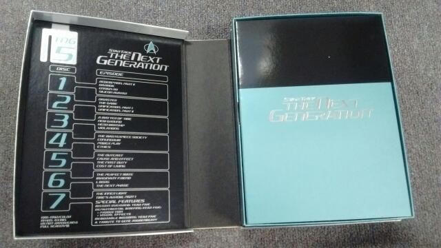 STAR TREK: THE NEXT GENERATION SEASON FIVE (TGN S5), 7-DISC SET