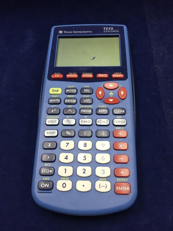 TEXAS INSTRUMENTS Calculator TI-73