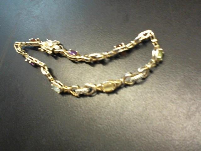 Silver Fashion Bracelet 925 Silver 8.1g