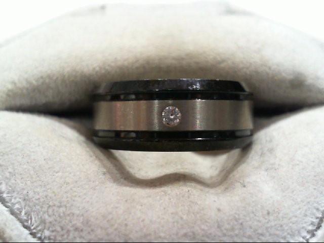 Gent's Ring Black Titanium 4.1g
