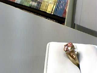 Synthetic Cubic Zirconia Lady's Stone & Diamond Ring 8 Diamonds .08 Carat T.W.