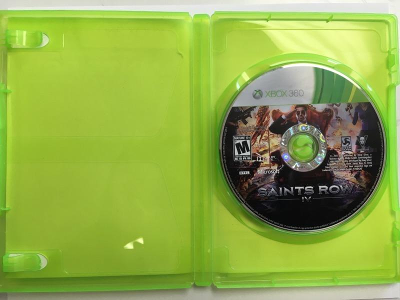 Saints Row IV -Commander in Chief Editon -(Microsoft Xbox 360, 2013)