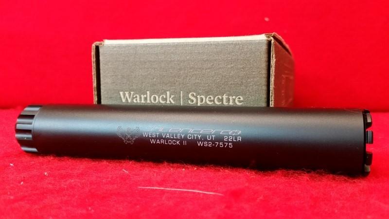 SilencerCo Warlock II Rimfire Suppressor - 22lr