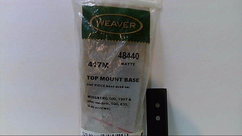 Preowned Weaver Top Scope Mount for Mossberg 500A 590 835