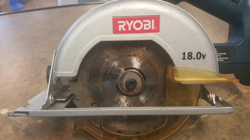 RYOBI Circular Saw P501 18V