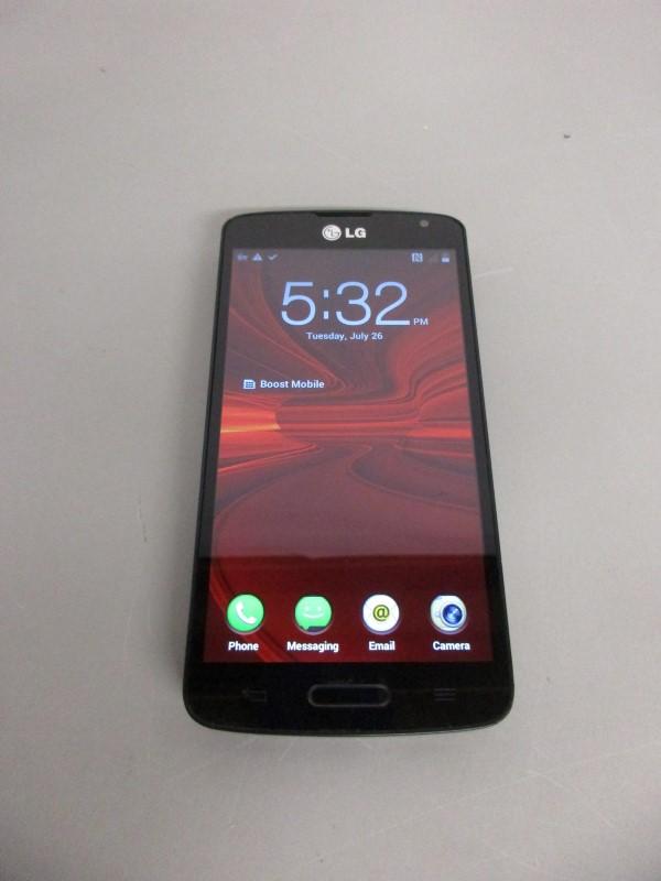 LG VOLT LS740 SMARTPHONE, BOOST MOBILE