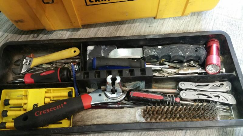 Combination Tool Set MISC TOOLS IN TOOL BOX
