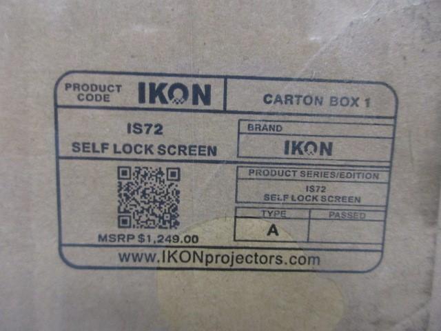 IKON IS72 DIGITAL PROJECTOR SELF LOCK SCREEN