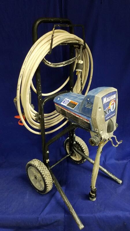 GRACO MAGNUM XR7 AIRLESS SPRAYER