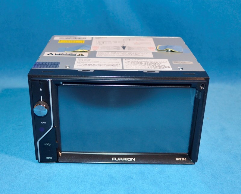 "FURRION NV2200 IN DASH CAR NAVIGATION UNIT CD/DVD/GPS/USB 6.2"" TOUCHSCREEN"