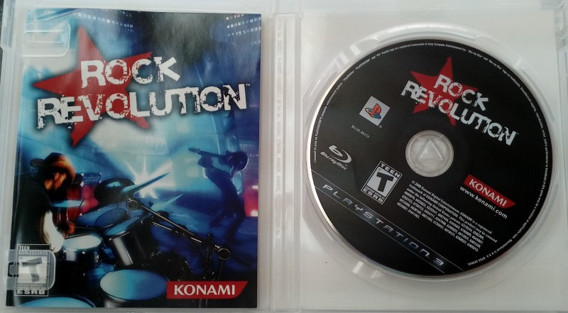SONY PLAYSTATION 3 GAME PS3 ROCK REVOLUTION