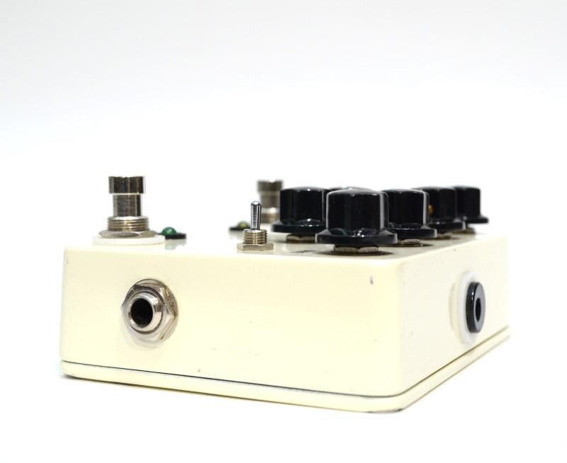 JHS Pedals Double Barrel V3 Dual Overdrive Guitar Effect Pedal {